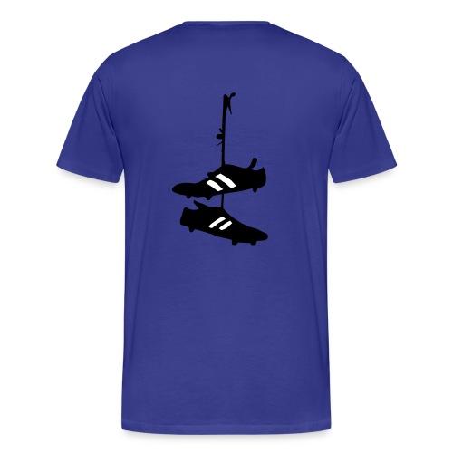 Statt Rückennummer  I - www.tabellenspitze.de - Männer Premium T-Shirt