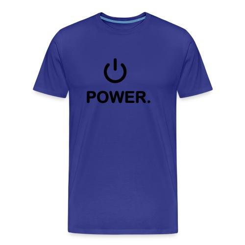 Power Tee - Men's Premium T-Shirt