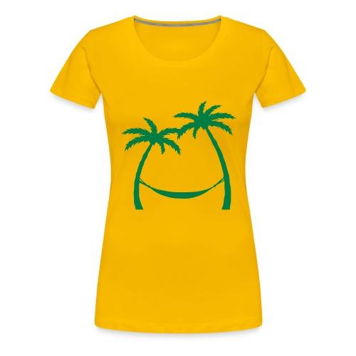Frau, Der Sommer meines Lebens - Frauen Premium T-Shirt