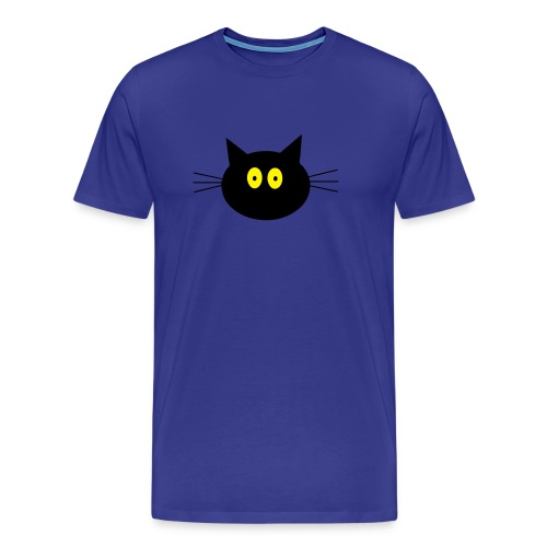 Katze - bleu - Männer Premium T-Shirt