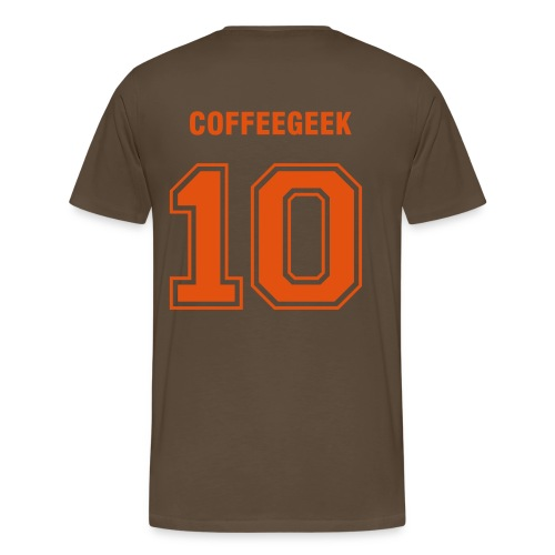 Coffeegeek - Premium T-skjorte for menn