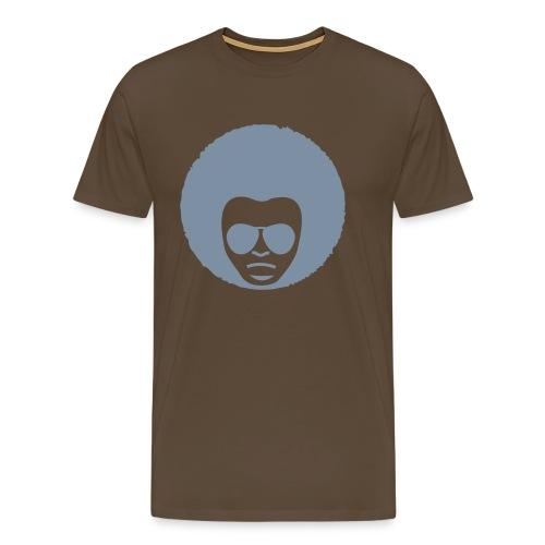 Funky Face - Mannen Premium T-shirt