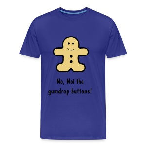 The Gingerbread Man - Men's Premium T-Shirt