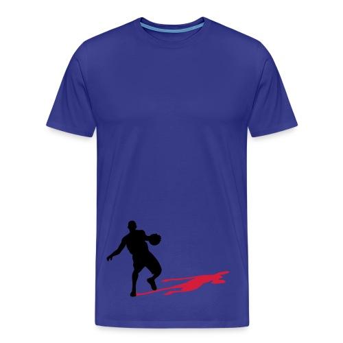 'bb player' - Premium-T-shirt herr
