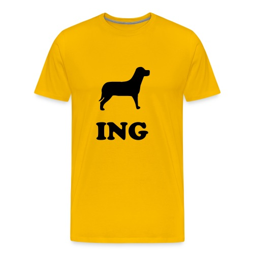 dogging - Men's Premium T-Shirt
