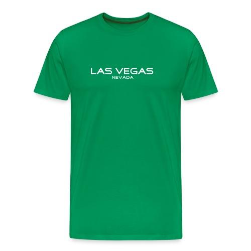 T-Shirt LAS VEGAS, NEVADA grasgrün - Männer Premium T-Shirt