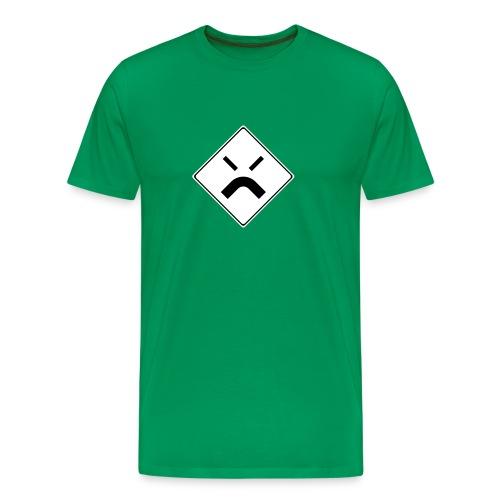 Geknickte Vorfahrt T - Männer Premium T-Shirt