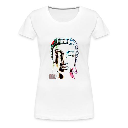 Buddha - WHITE - Women's Premium T-Shirt