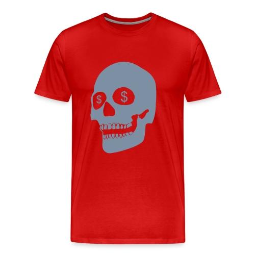 MONEY SKULL - Men's Premium T-Shirt