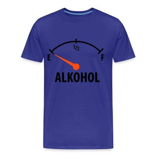 Alkohol Tacho-Nüchtern - Männer Premium T-Shirt