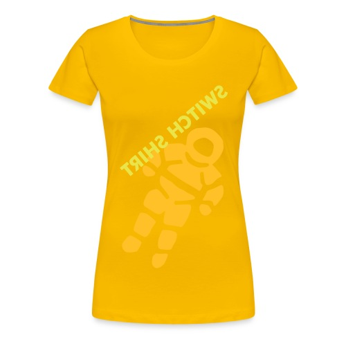 SUNSHINE SWITCH - Women's Premium T-Shirt