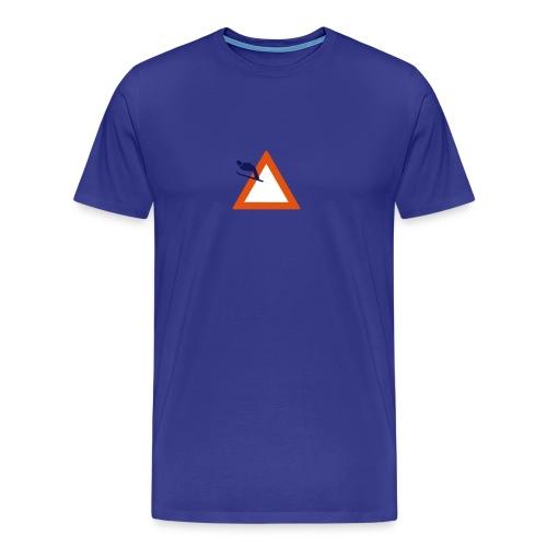 Skispringen - hellbleu - Männer Premium T-Shirt