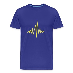 Soundwelle - Männer Premium T-Shirt