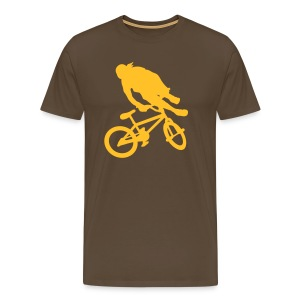 Tailwhip Brown/Yellow - T-shirt Premium Homme