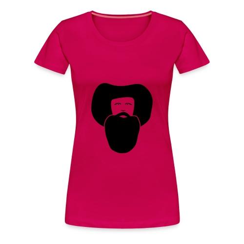 Andreas Hofer, Flockdruck Schwarz, verschiedene Farben - Frauen Premium T-Shirt