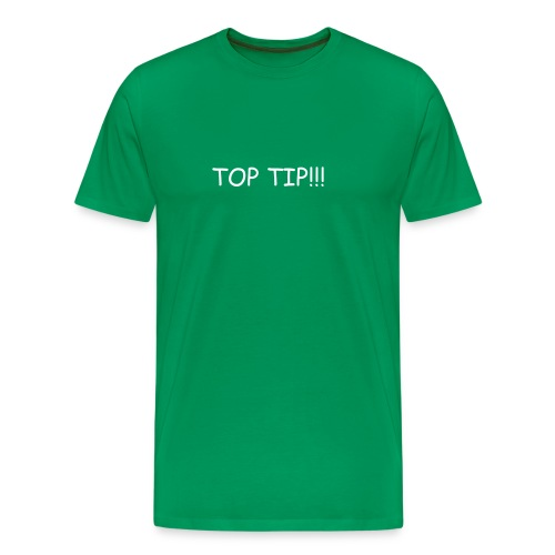 Mike TV Top Tip T Shirt - Men's Premium T-Shirt