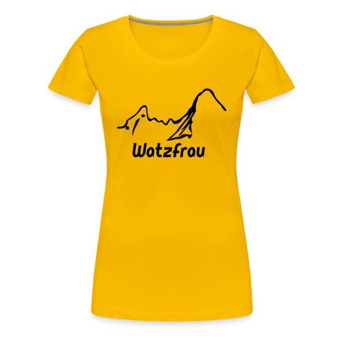 T-Shirt Watzfrau - Frauen Premium T-Shirt