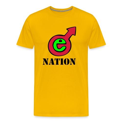 E Nation Ecstacy T-shirt - Men's Premium T-Shirt