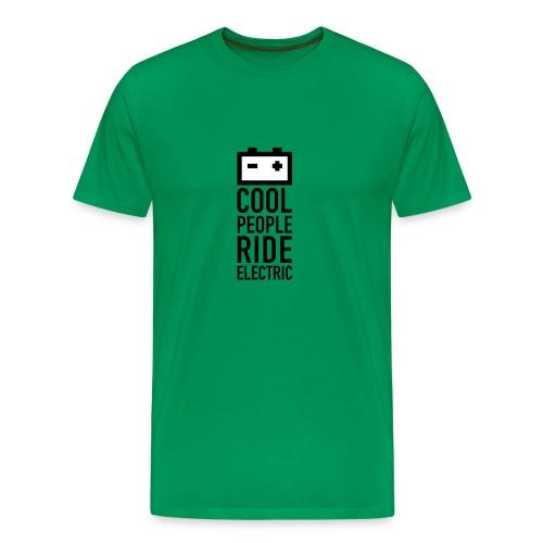 battery T-Shirt Männer grasgrün - Männer Premium T-Shirt