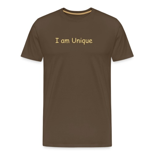I am Unique  - Men's Premium T-Shirt
