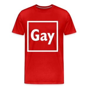 GAY - Mannen Premium T-shirt