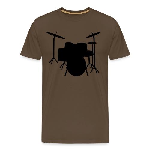 Drum - Premium T-skjorte for menn