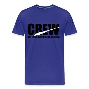 CREW - Mannen Premium T-shirt