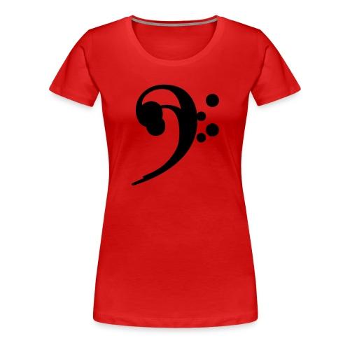 F Clef  - Women's Premium T-Shirt