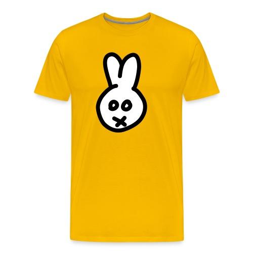 Bunny2c - yellow shirt - Männer Premium T-Shirt