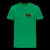 T-skjorter ~ Premium T-skjorte for menn ~ T-shirt Stor elg