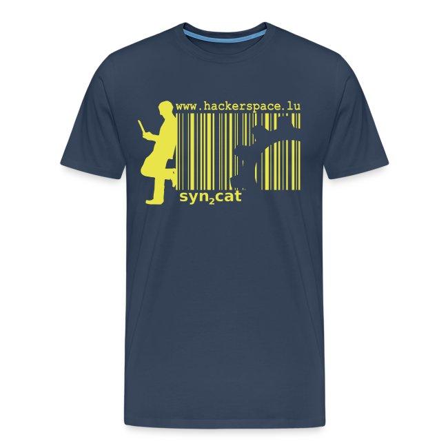 syn2cat-glider shirt (yellow-green edition)