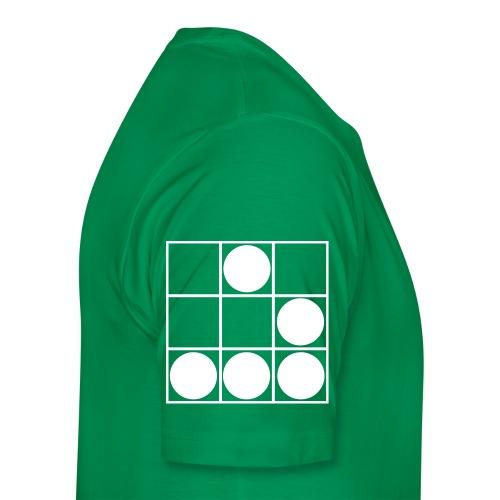 syn2cat-glider shirt (yellow-green edition) - Men's Premium T-Shirt