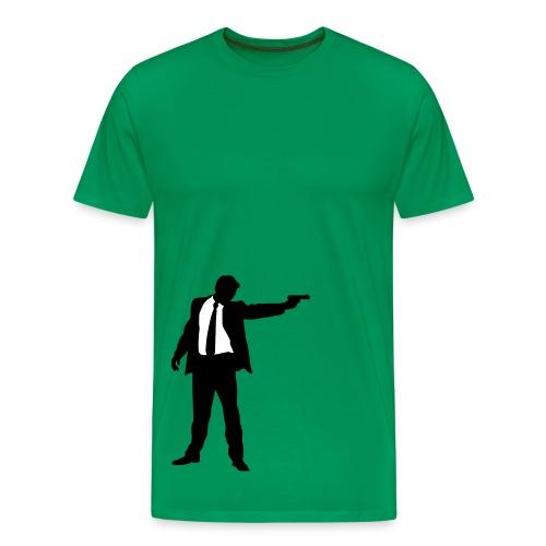 Gunpoint - Premium T-skjorte for menn