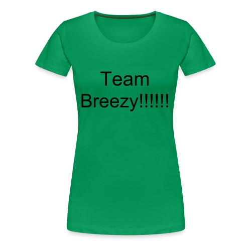 Team Breezy Shirt - Vrouwen Premium T-shirt