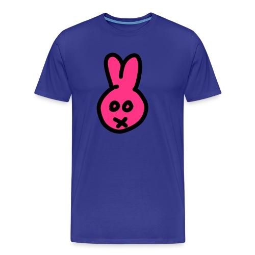 Bunny2c - blue shirt - Männer Premium T-Shirt