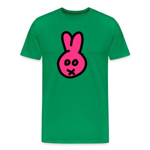 Bunny2c - khaki shirt - Männer Premium T-Shirt