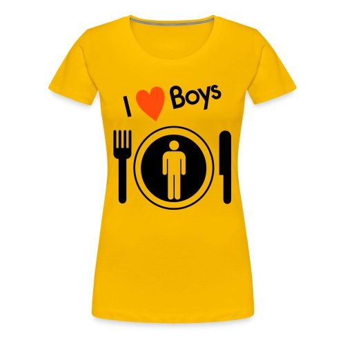 Retro Nosh women's Tee - Women's Premium T-Shirt