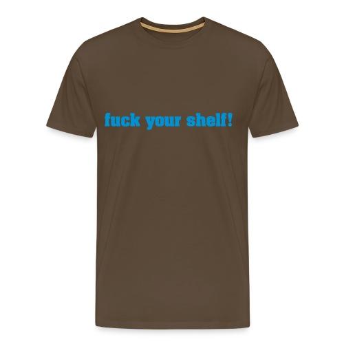 shelf - Premium T-skjorte for menn