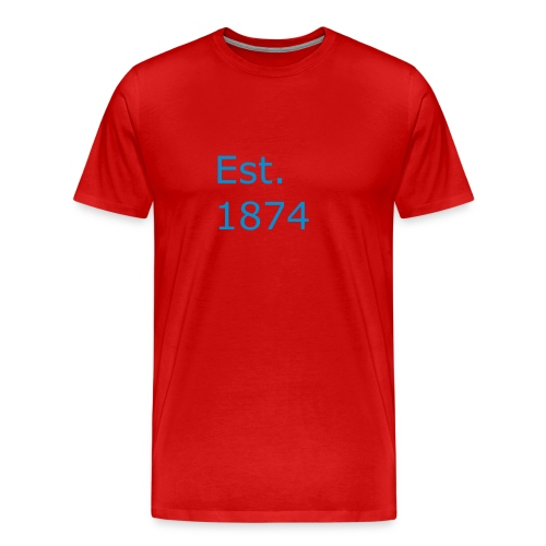 Est. 1874 - Men's Premium T-Shirt