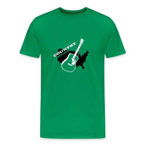 Country Musik - Männer Premium T-Shirt