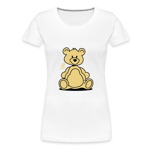 Teddy (sand & black) - Women's Premium T-Shirt