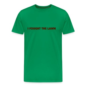 The Lawn Won - Men's Premium T-Shirt