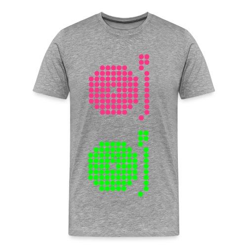 Dynamic Core Color Board - Männer Premium T-Shirt