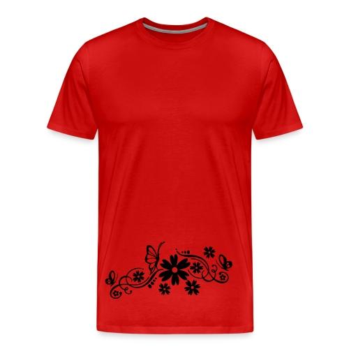 t-shirt flower Valti - T-shirt Premium Homme