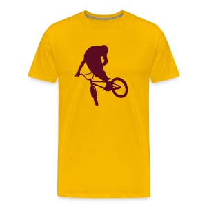 TableTop Yellow/Maroon - T-shirt Premium Homme