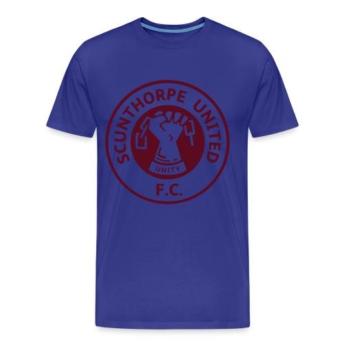 Retro Badge (flex) - Men's Premium T-Shirt
