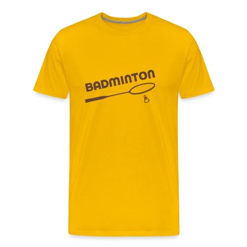 Badminton - T-shirt Premium Homme
