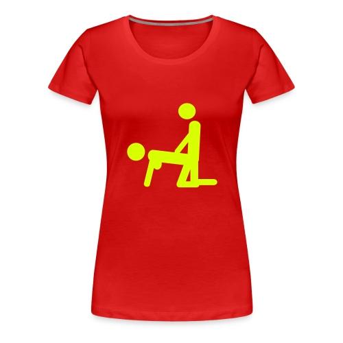 Amour a deux - T-shirt Premium Femme