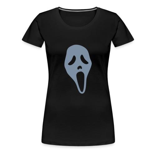 Scream (silver) - Women's Premium T-Shirt