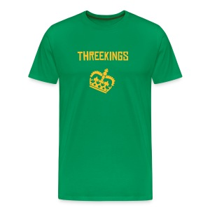 THREEKINGS CROWN - Men's Premium T-Shirt